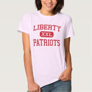Libertad - patriotas - centro - Lemoore California Playeras