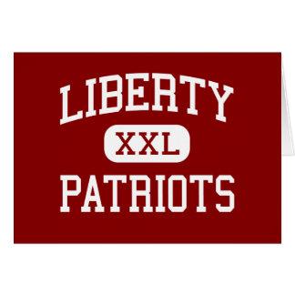 Libertad - patriotas - joven - Dallas Tejas Tarjeta De Felicitación