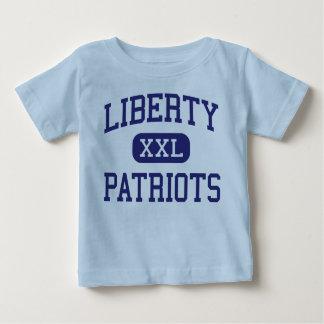 Libertad - patriotas - joven - nuevo Lenox Playera