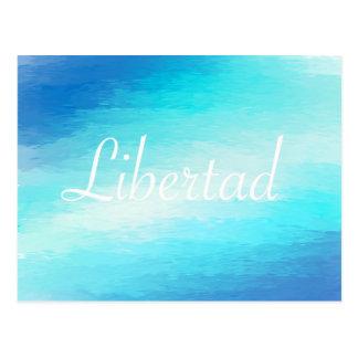 Libertad Postcard