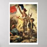 Libertad que lleva a la gente, el 28 de julio de 1 posters