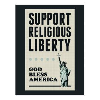 Libertad religiosa de la ayuda postal