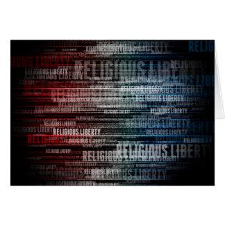 Libertad religiosa tarjetas