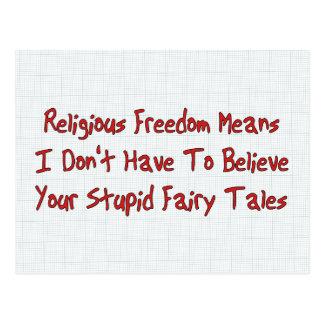 Libertad religiosa postal