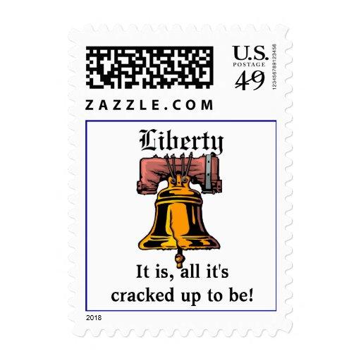 Libertad Sello Postal