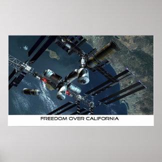 Libertad sobre California Impresiones