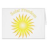Libertad solar de T11a Tarjeta