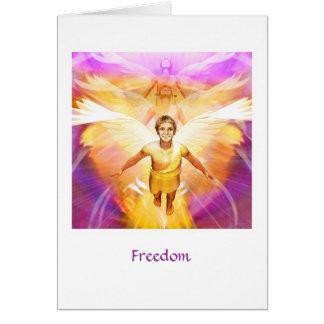 Libertad Tarjeta De Felicitación