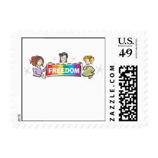 Libertad Timbres Postales