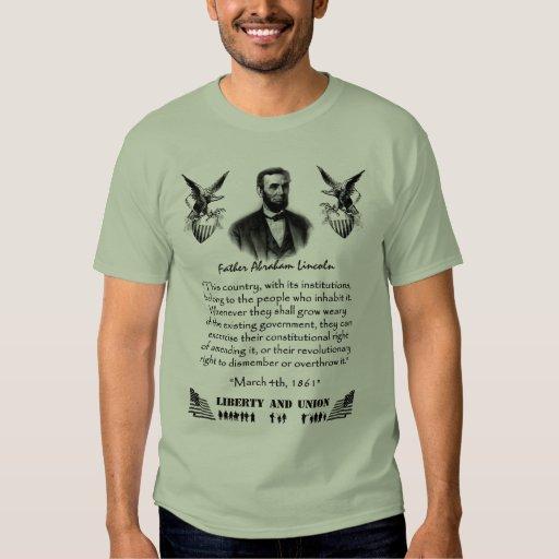 Libertad y camisa de la unión