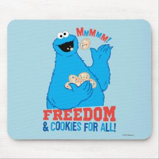 ¡Libertad y galletas para todos! Alfombrilla De Ratón