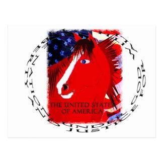 Libertad y justicia para todos postales