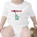 Libertad y libertad chinas traje de bebé
