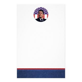 Libertad y libertad de Ronald Reagan Papelería De Diseño