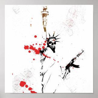 Libertad y muerte poster