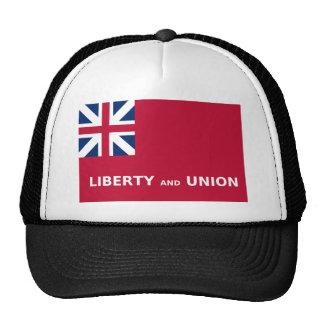 Libertad y unión 1774 de la bandera de Estados Gorros