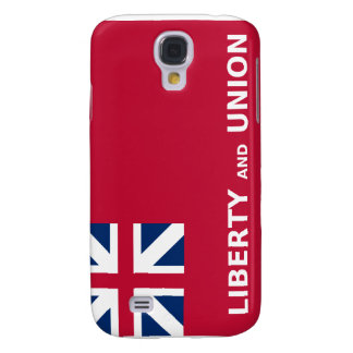 Libertad y unión 1774 de la bandera de Estados Uni Funda Para Galaxy S4