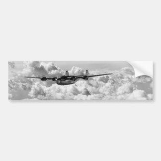 Libertador 1944 expreso en vuelo pegatina para auto