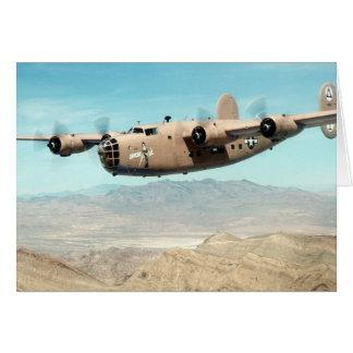 Libertador B-24 Tarjeta De Felicitación