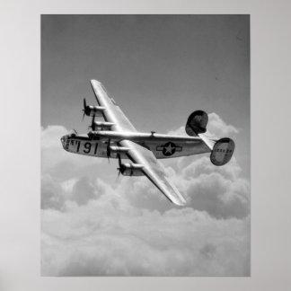 Libertador consolidado B-24 Posters