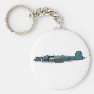 Libertador consolidado PB4Y-1 Llavero Redondo Tipo Pin