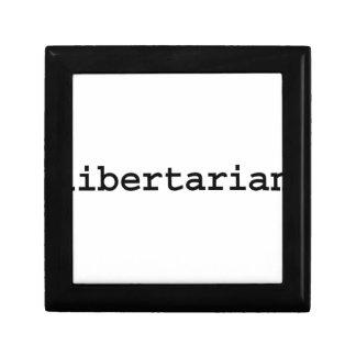 libertarian. caja de regalo