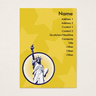 Libertarian - Chubby Business Card
