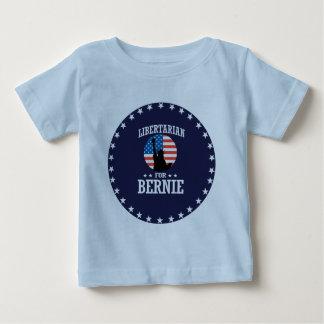 LIBERTARIAN FOR BERNIE SANDERS BABY T-Shirt