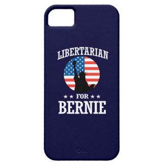 LIBERTARIAN FOR BERNIE SANDERS iPhone 5 COVER