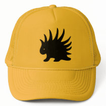 libertarian Liberal Pig-spin of black color Trucker Hat