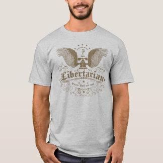"Libertarian ""Live not by the Sword"" T-shirt"