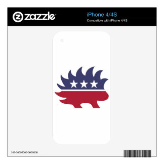 Libertarian Party Decals For The iPhone 4S