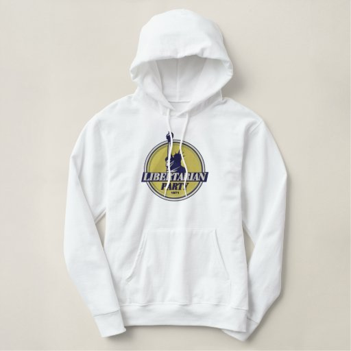Libertarian Party Embroidered Hoodie