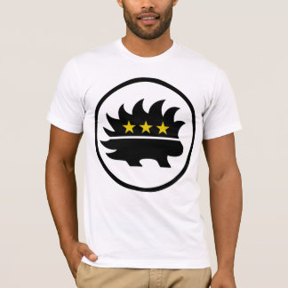 Libertarian Party Gold Star Porcupine T-Shirt