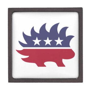 Libertarian Party Jewelry Box