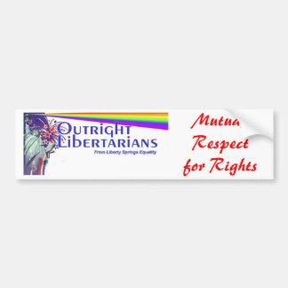 Libertarian Party Logo Bumper Sticker