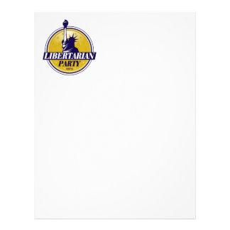 Libertarian Party Logo Letterhead