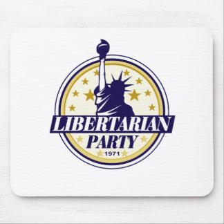 libertarian party logo mouse mat