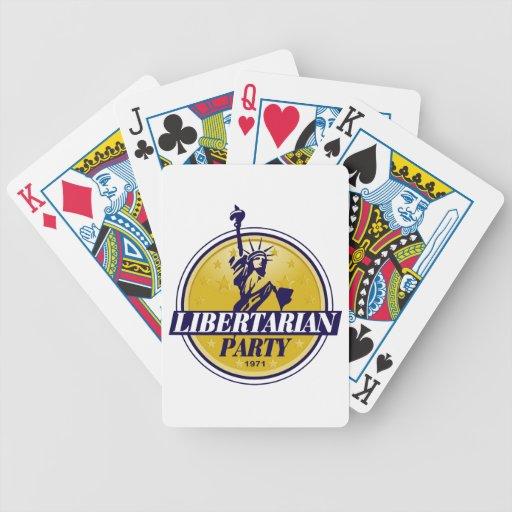 Libertarian Party Logo Politics Card Decks