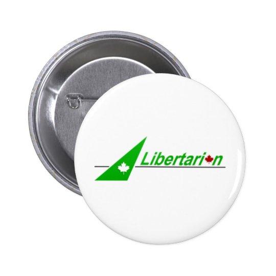Libertarian_Party_of_Canada_Logo Pin Redondo De 2 Pulgadas