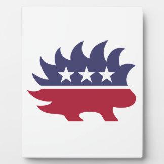 Libertarian Party Plaque