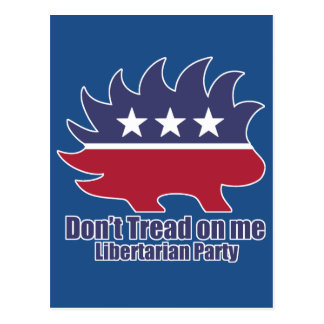 Libertarian Party Postcard