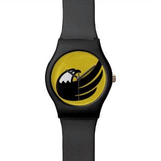 Libertarian Party Torch Eagle USA American Wrist Watch