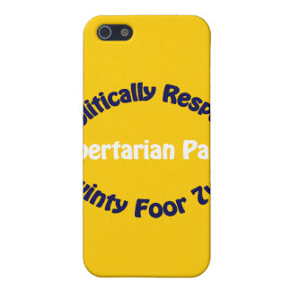 Libertarian Party - Twinty Foor 7ven Case For iPhone SE/5/5s