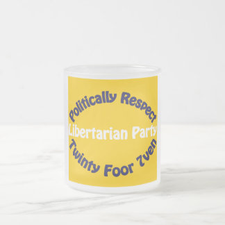 Libertarian Party - Twinty Foor 7ven Mugs