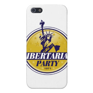 Libertarian Political Party Logo Case For iPhone SE/5/5s