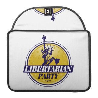 Libertarian Political Party Logo MacBook Pro Sleeve