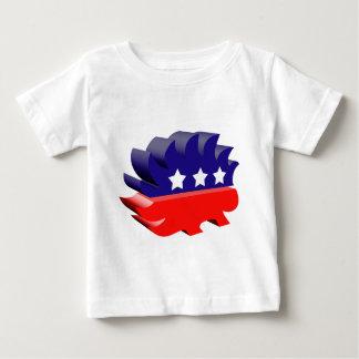 Libertarian porcupine 3D Baby T-Shirt