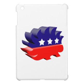 Libertarian porcupine 3D Cover For The iPad Mini