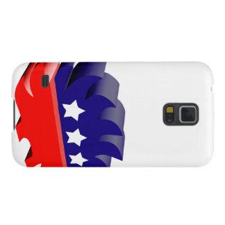 Libertarian porcupine 3D Galaxy Nexus Cases